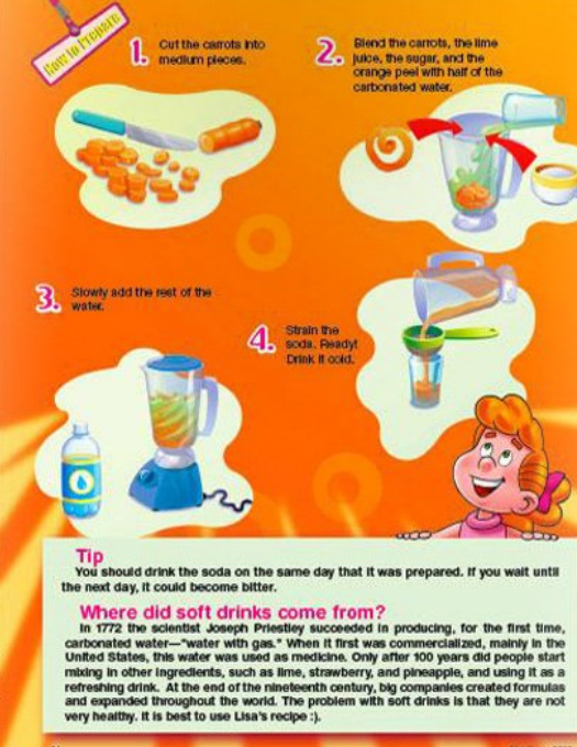 my best friends christian magazine for kids recipe and craft activity continuation