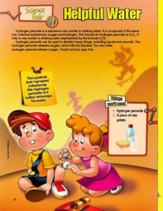My Best Friends christian magazine for kids science fair activity