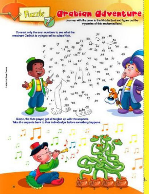 My Best Friends christian magazine for kids puzzle section