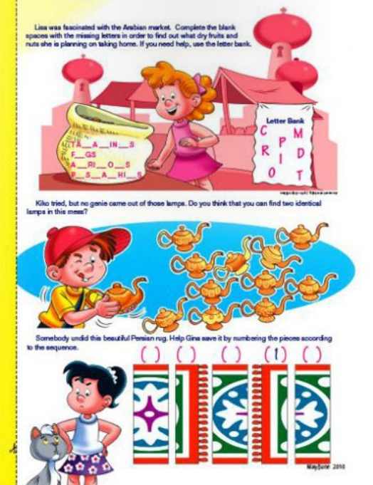 My Best Friends christian magazine for kids puzzle component continuation