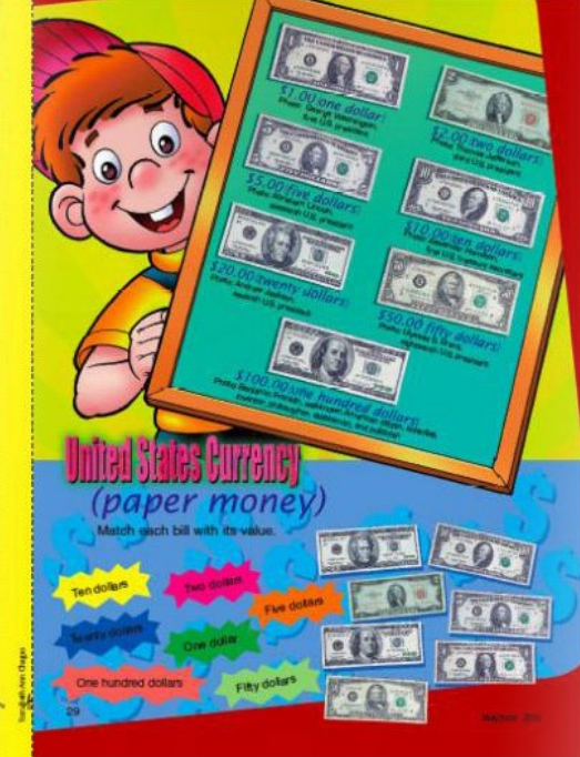 My Best Friends christian magazine for kids everyday life component continuation - US currency