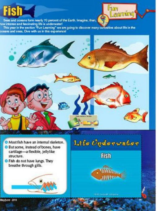My Best Friends christian magazine for kids fun learning page