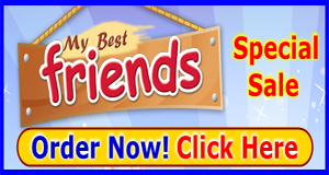 My Best Friends Sale christian magazine Medium Banner