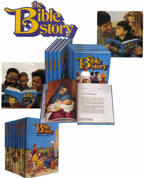 The christian Bible Story Book set for children